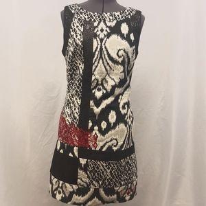 Striking, Desigual brand dress